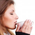 Guzzling caffeine for weight loss