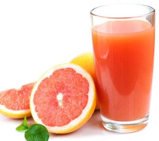 must go on a grapefruit juice diet