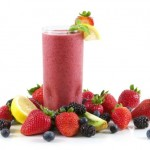 fruits and smoothies
