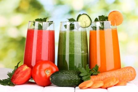 Fruit and Vegetable Juice detox Diet