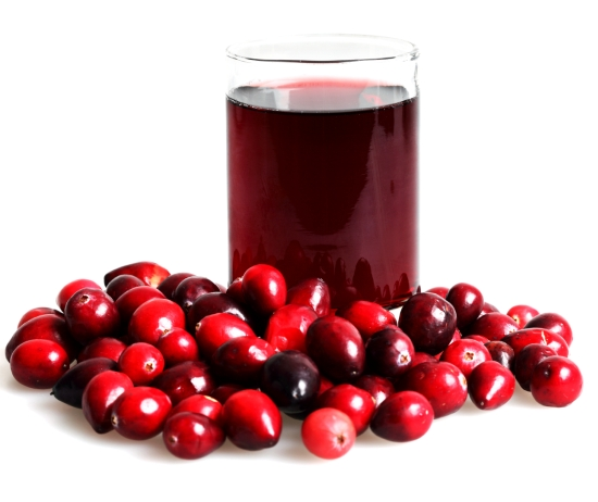cranberry juice diet